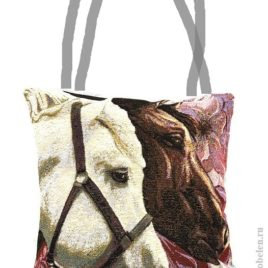 Парочка (38х38 см) — сумка декоративная