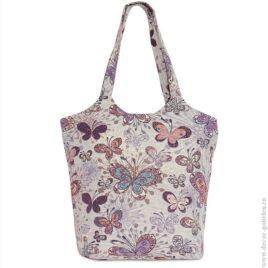 Мотылёк (33х40 см) — сумка декоративная