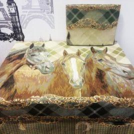 Трио (170х120 см) — скатерть гобеленовая