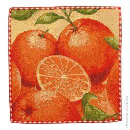 Апельсин (26х26 см) — салфетка декоративная