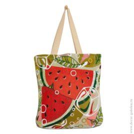 Арбуз (35х33 см) — сумка декоративная
