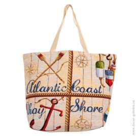 Атлантика (47х39 см) — сумка гобеленовая