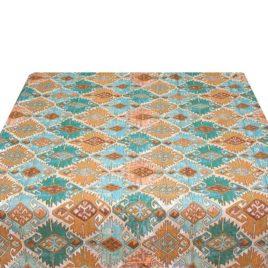 Марокко (бирюза) 150х120 см — скатерть гобеленовая
