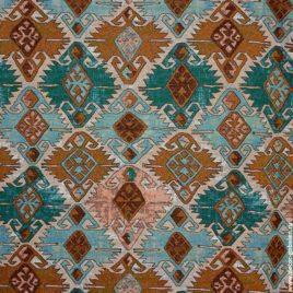 Марокко (бирюза) 240 см — ткань гобеленовая
