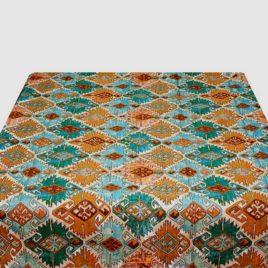 Марокко (бирюза) 235х235 см — скатерть гобеленовая