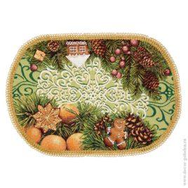 Пряники (50х35 см) — салфетка декоративная с тесьмой