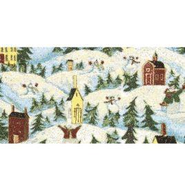 Рождественское настроение (56х144 см) — сонетка декоративная