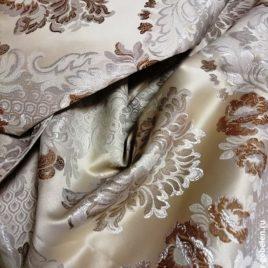 Версаль Крупный (беж) — ткань портьерная