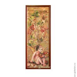 Амур (25х70 см) — картина в багете
