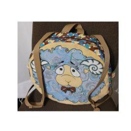 Кудряш (35х35х11 см) — рюкзак декоративный