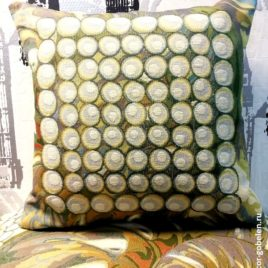 Жемчужина (45х45 см) — наволочка гобеленовая