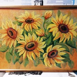 Цвет солнца (75х50 см) — картина в багете