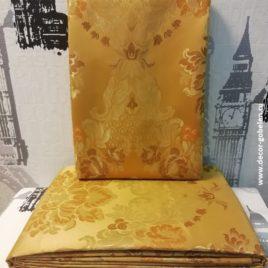 Версаль Крупный (золото) 145х280 см — комплект штор