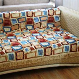 Геометрика (220х160 см) — накидка на диван