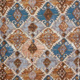 Марокко (синий) 240 см — ткань гобеленовая