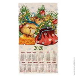 Талисман (36×70 см) — календарь гобеленовый 2020 год