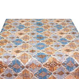 Марокко (синий) 235х235 см — скатерть гобеленовая