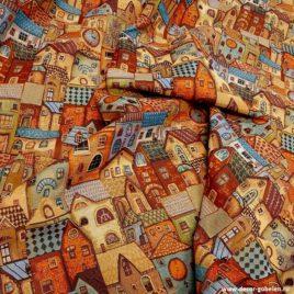 Городок (150 см) — ткань гобеленовая