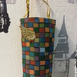 Блик (15х35 см) — сумочка гобеленовая