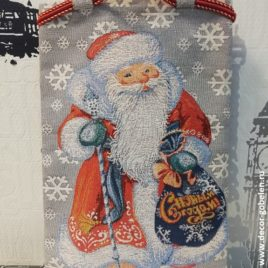 Дед Мороз (24х36 см) — сумочка гобеленовая