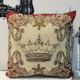 Корона (36х36 см) — подушка гобеленовая