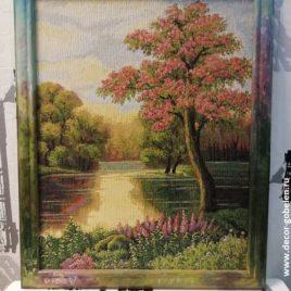 Майский вечер (46х57 см) — картина в багете