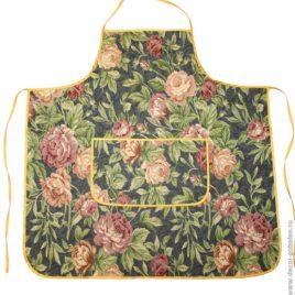 Ретро розы (70х75 см) — фартук гобеленовый