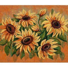 Цвет солнца (75х52 см) — салфетка гобеленовая