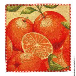 Апельсин (26х26 см) — комплект салфеток 6 шт