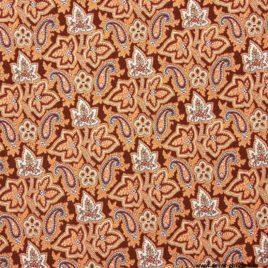 Арабески (бордо) 70х150 см — накидка на кресло
