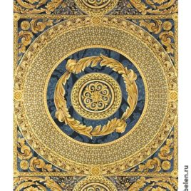 Версаль (синий) 160х235 см — покрывало гобеленовое