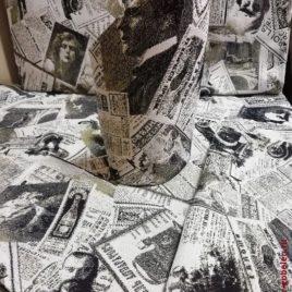 Газета Российская (29х29 см) — комплект салфеток (4 шт)