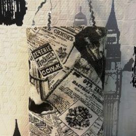 Газета Российская (20х28 см) — сумочка гобеленовая