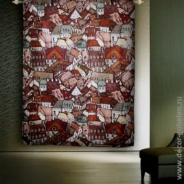 Крыши (150х220 см) — панно гобеленовое