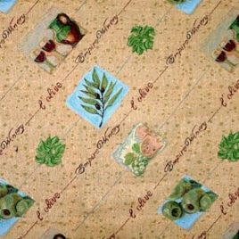 Олива (250х220 см) — покрывало гобеленовое